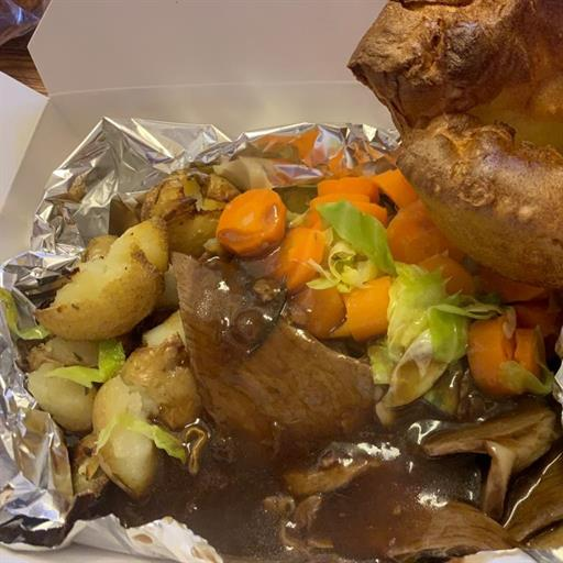 ROAST'S IN A BOX ( SUNDAY'S ONLY )