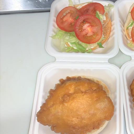 Fresh Chicken Fillet Burger